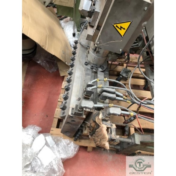 Extrusion line of sheet