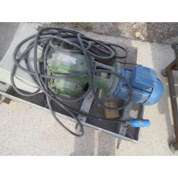 Gear motor with 0.55 KW