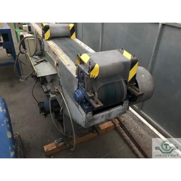 Profile conveyor belt