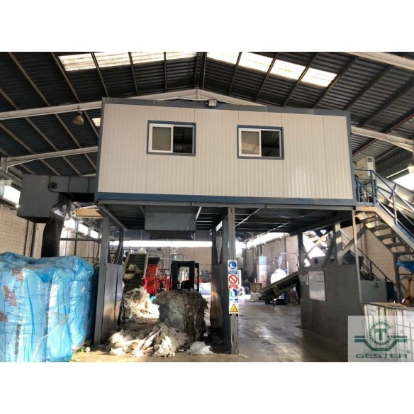 Material selection cabin