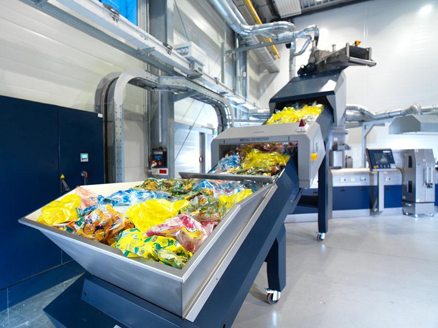 maquinaria para reciclado de plastico alicante