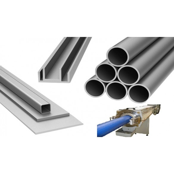 MANUFACTURING OF PIPES AND PROFILS