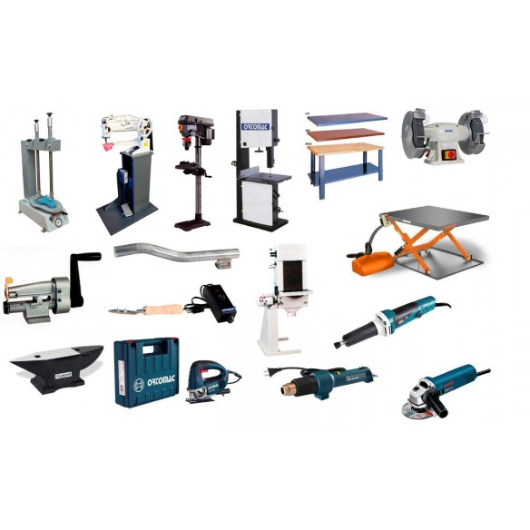 MACHINERY FOR TOOL SHOP